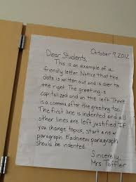 best letter writing format ideas writing anchor the fourth grades students are learning the proper format for creating a friendly letter