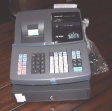 sharp xe a206. sharp xe-a206 electronic cash register no keys xe a206 s
