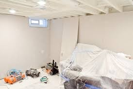 white ceiling paintWhite Painted Ceilings and Drywall in the Basement  The Golden