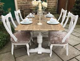 glamorous vintage farmhouse kitchen table and chairs dining amp 4 antique seats 6 shabby likable