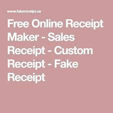 Make Receipts Free How To Make Fake Receipts Free How To Make Fake Hotel Custom Invoice 59