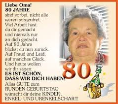 Sprüche 80 Geburtstag Frau Ribhot V2