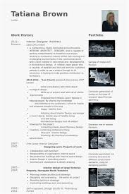 Architect Resume Samples Free Templates Interior Designer Architect