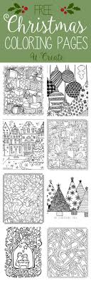 Creative haven winter wonderland coloring book (adult coloring). Free Christmas Adult Coloring Pages U Create