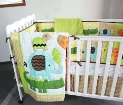 twin baby bedding sets baby bedding sets embroidery giraffe elephant crocodile tortoise crib bedding set cotton