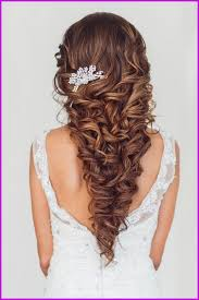 Coiffure Mariage Cheveux Bouclés Mi Long 323238 Coiffure