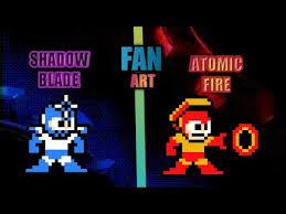 Mega Man 3 Damage Chart Other Megaman Weapon In Megaman 11 Style 8 Bit