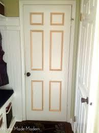 Five Panel Door Headboard Remodelaholic 40 Ways To Update Flat Doors And Bifold Doors