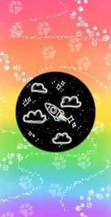 Rainbow Galaxy, aesthetic, cloud ...
