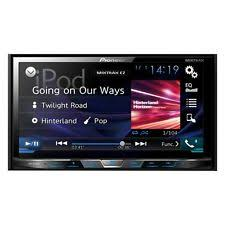 pioneer double din vehicle electronics gps pioneer double 2 din avh x490bs dvd cd player 7 bluetooth touchscreen aux usb