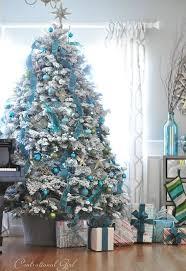 Turquoise Christmas Inspiration - Christmas Decorating ~ 20 Awesome  #ChristmasTree Decorating Ideas & Inspirations -