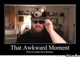 That Awkward Moment by rowel - Meme Center via Relatably.com