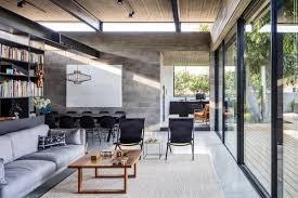 Indoor Outdoor Living concrete house offers indooroutdoor living among fruit trees curbed 4372 by xevi.us