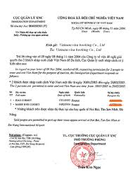 Ideas Of Visa Approval Letter Information Format Vietnam Visa On