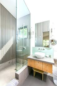 corrugated metal panels for interior walls bathroom design wall