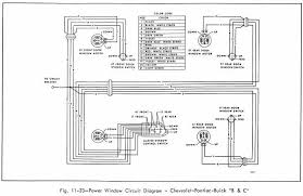 power window 1966 chevrolet pontiac and buick wiring diagram power window circuit diagram of 1966 chevrolet pontiac and buick b c