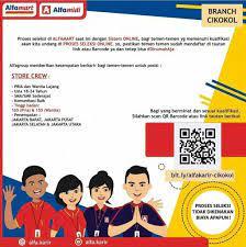 Lowongan Kerja Alfamart Branch Cikokol Terbaru