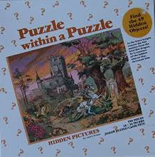 It's the type of relaxation where your hands or eyes are kept busy as you follow a. Puzzle Within A Puzzle Hidden Pictures By Larry Evans 550 Pieces By Great American Puzzle Factory Jigsaw Puzzles Amazon Canada