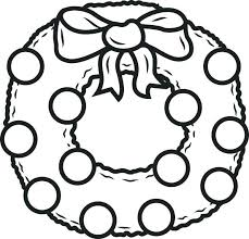 Wreath Coloring Pages Ornaments Coloring Pages Coloring Sheets