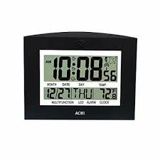 wall clocks battery operated atomic