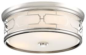 minka lavery 826 613 minka lavery 3 light polished nickel flush mount
