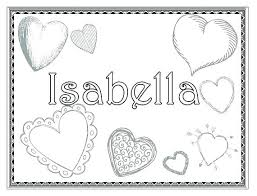 Custom Coloring Pages Names Birthday Personalized Happy Name At Free