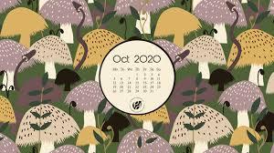 Oct 2020 free calendar wallpapers ...