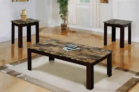Table Sets For Living Room 3 Piece Living Room Table Sets Furniture Deshan Birch Living Room