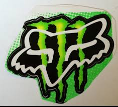 Fox Racing And Monster Energy Logo Large Jpg Logos