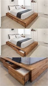 Charming Fascinating Best 25 Bed Frame Storage Ideas On Pinterest Platform Bed  Raised Double Bed With Storage ...