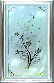 glass etching designs for doors lovely etched panels bespoke bathroom uk