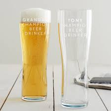 personalised chion beer drinker