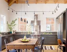 kitchen outstanding track lighting. great track light kitchen industrial design with perimeter lighting and rustic wood plank ceiling outstanding e