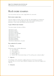 Real Estate Appraiser Resume Simple Real Estate Marketing Assistant Cover Letter Sales Covering Examples