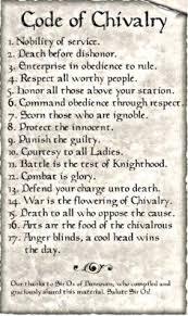 code of chivalry king arthur essay