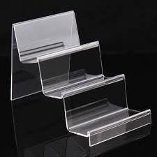 Clear Stands For Display Earphone display shelf 100 layer commodity shelf clear acrylic 60