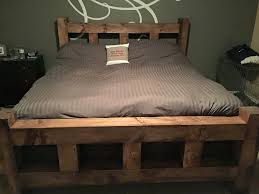 Cedar Post Bed Frame Four 4 Wood King Creations Beds Bedrooms ...