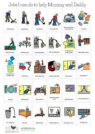 Autism Chore Chart Pin By Jackie Richardson On Quotes Autism Learning Social