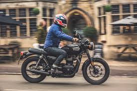 first ride triumph bonneville t100 street cyclez