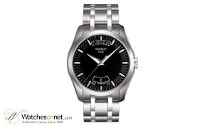 tissot couturier t035 407 11 051 00 men s stainless steel tissot couturier automatic men s watch stainless steel black dial t035 407 11 051 00