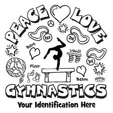 gymnastics coloring book pages preschool gymnastics coloring pages idate1 printable for coloring