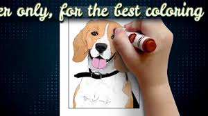 Small Picture Dog Coloring Pages Book for Kids Adults V1 Dogs Colouring Books