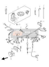 suzuki gsf600 n s bandit 2002 spare parts msp wiring harness gsf600s su