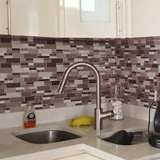 Kitchen Backsplash Tile Peel And Stick White Brick Subway For Bathroom - Tile backsplash in bathroom