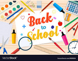 Welcome Back Graphics Welcome Back To School Template With Office