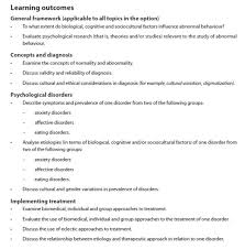 ib psychology blog ib psychology abnormal learning outcomes