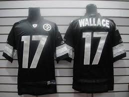 Mike Shipping Steelers Wallace Black Nfl Free Jersey Stitched Shadow 17 Cheapest With Sale