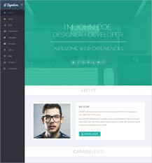 Resume Website Template Amazing 28 HTML28 Resume Templates Free Samples Examples Format Download