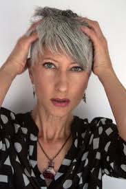 Short Grey Hair Style 393 best style grey hair images silver hair 7185 by wearticles.com