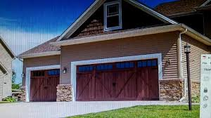 chi 5217 accents flush overlay garage doors - YouTube